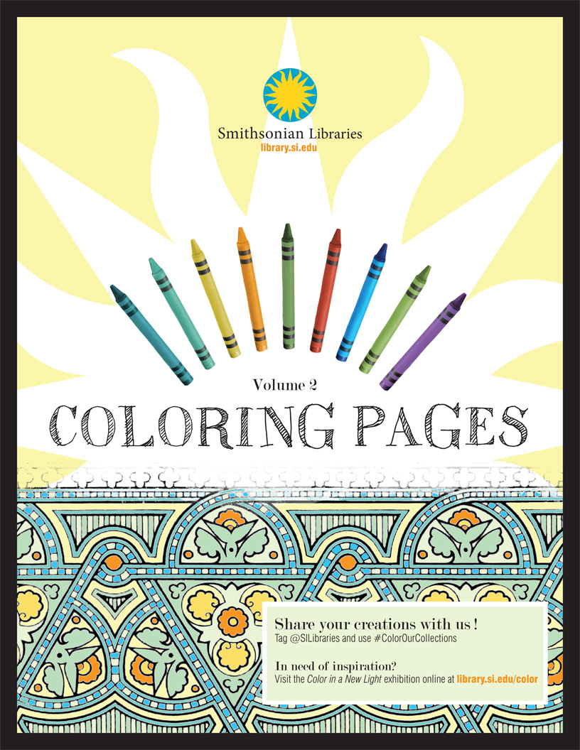 color with us on national coloring book day