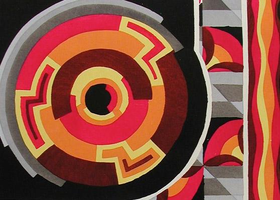 Vibrant Visions- Pochoir Prints in the Cooper-Hewitt