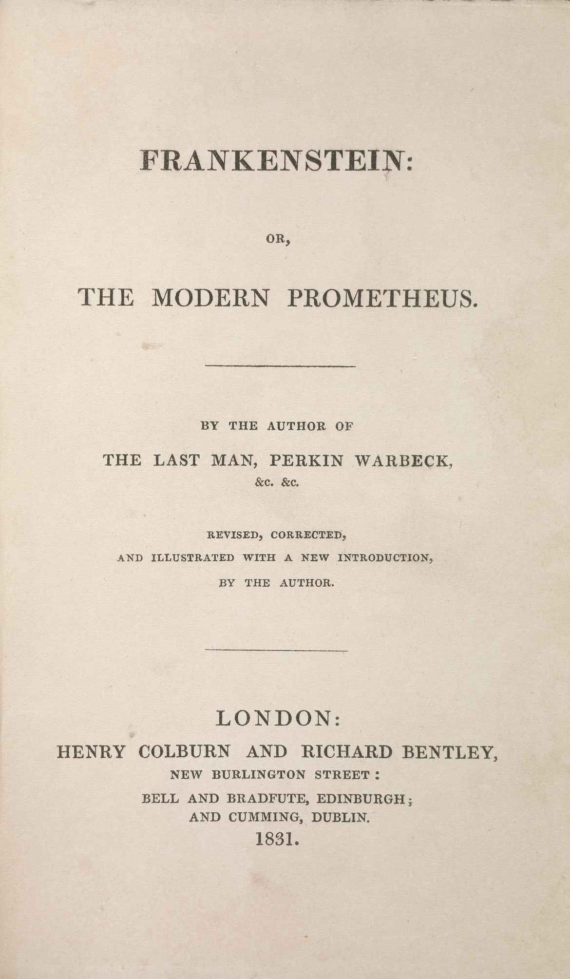 mans prejudice frankenstein by mary shelley essay Frankenstein mary shelley buy critical essays major themes shelley seems to conclude that man cannot handle becoming both like god and a creator without.