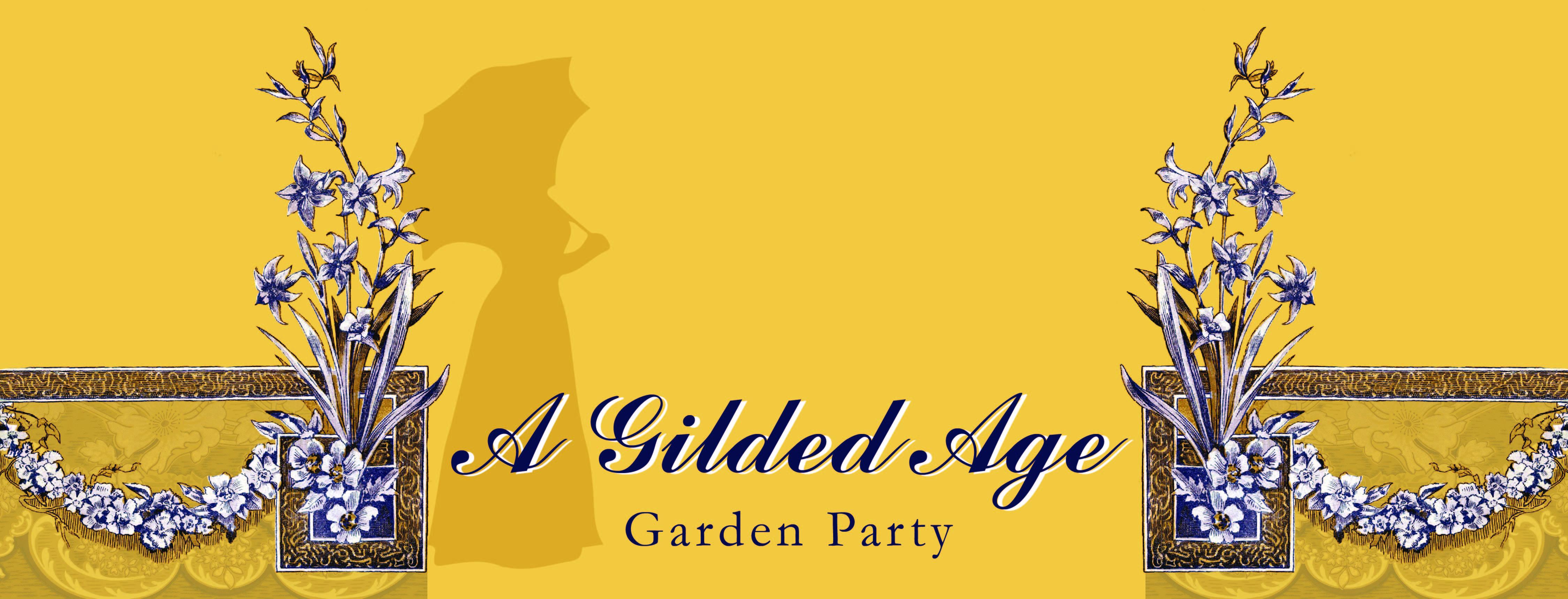 A Gilded Age Garden Party