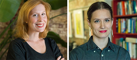 Headshots of Heather O'Donnell and Rebecca Romney