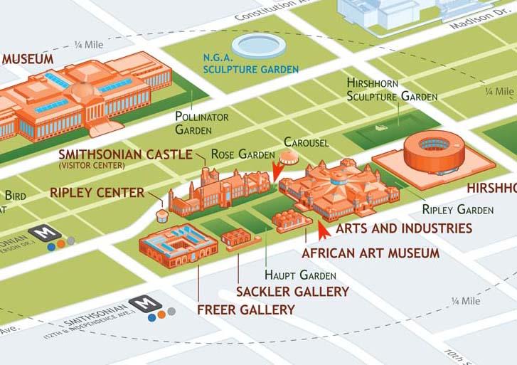 Map of entrances to Garden Party
