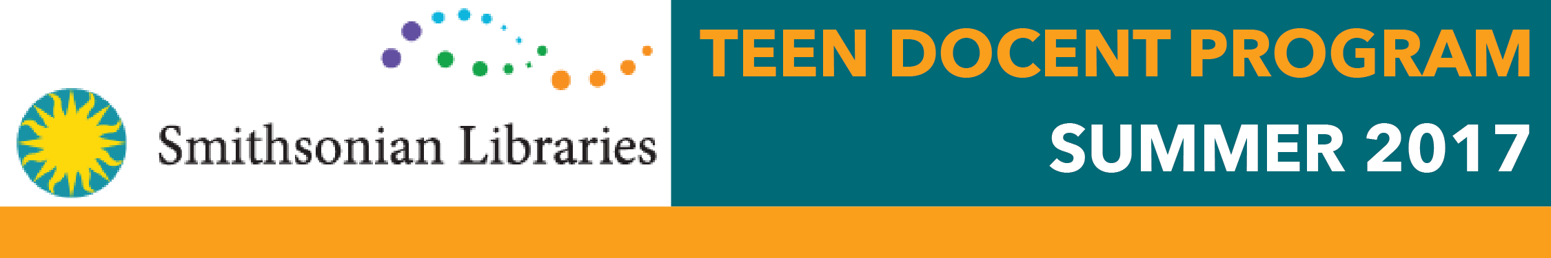 Smithsonian Libraries Teen Council Program