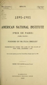 Cover of 1895-1905