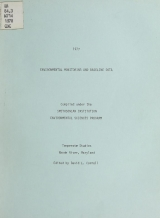 Cover of 1977 environmental monitoring and baseline data