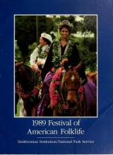 Cover of 1989 Festival of American Folklife, June 23-27, June 30-July 4