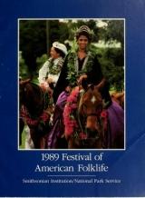 Cover of 1989 Festival of American Folklife, June 23-27, June 30-July 4