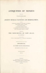 Cover of Antiquities of Mexico v. 6
