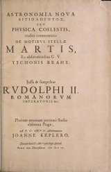 Cover of Astronomia nova aitiologetos romanized