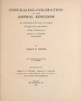 "Cover of ""Concealing-coloration in the animal kingdom an exposition of the laws of disguise through color and pattern: being a summary of Abbott H."""