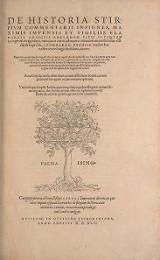 Cover of De historia stirpium commentarii insignes
