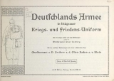 Cover of Deutschlands Armee in feldgrauer Kriegs- und Friedens-Uniform