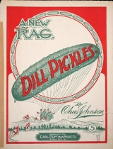 """Cover of """"Dill pickles"""""""