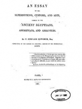 Cover of Essay on the superstitions, customs, and arts common to the Ancient Egyptians, Abyssinians, and Ashantees