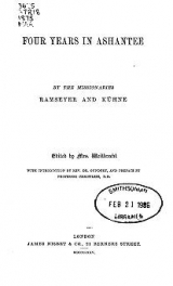Cover of Four years in Ashantee
