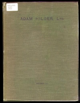 Cover of General catalogue of the manufactures of Adam Hilger, Ltd.