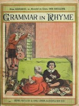 "Cover of ""Grammar in rhyme"""