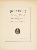 Cover of Hans Lustig