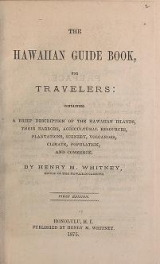 Cover of The Hawaiian guide book, for travelers