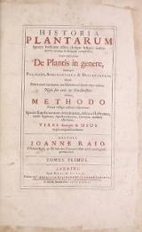 Cover of Historia plantarum v 1
