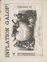 Cover of Inflation galop!