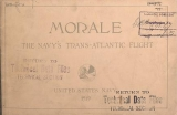 Cover of Morale, the Navy's trans-Atlantic flight
