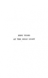 Cover of Nine years at the Gold Coast