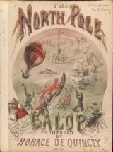 """Cover of """"The North Pole galop /"""""""