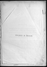 Cover of Studies in design