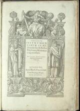 Cover of Theatrum instrumentorum et machinarum Iacobi Bessoni ...