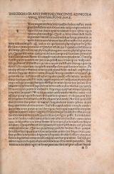 Cover of Theophrasti De Historia plantarum liber primus-decimus