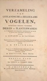 Cover of Verzameling van uitlandsche en zeldzaame vogelen benevens eenige vreemde dieren en plantgewassen - in 't engelsch naauwkeurig beschreeven en naar 't l