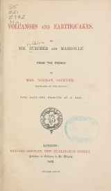 Cover of Volcanoes and earthquakes