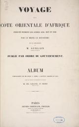 Cover of Voyage à la còte orientale d'Afrique