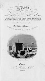 Cover of Voyages en Abyssinie et en Nubie