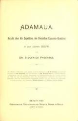 Cover of Adamaua