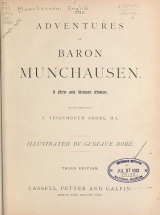 Cover of The adventures of Baron Munchausen
