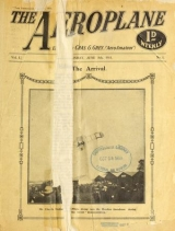 Cover of The Aeroplane v.1 June-Dec 1911