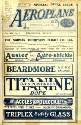 Cover of The Aeroplane v. 14 Jan-Mar 1918