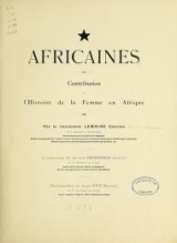 Cover of Africaines