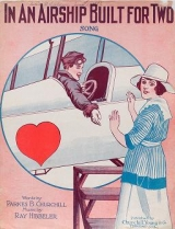 """Cover of """"In an airship built for two"""""""