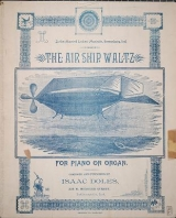 Cover of The air ship waltz