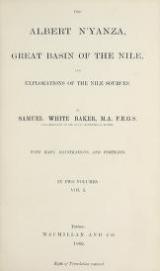 Cover of The Albert N'yanza