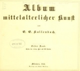 Cover of Album mittelalterlicher Kunst