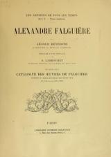 Cover of Alexandre Falguière