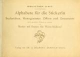 Cover of Alphabete für die Stickerin