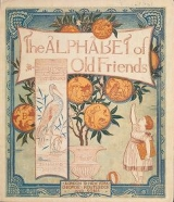 Cover of The alphabet of old friends