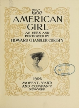 Cover of The American girl