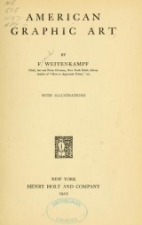 Cover of American graphic art