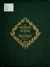 Cover of The American journal of philately